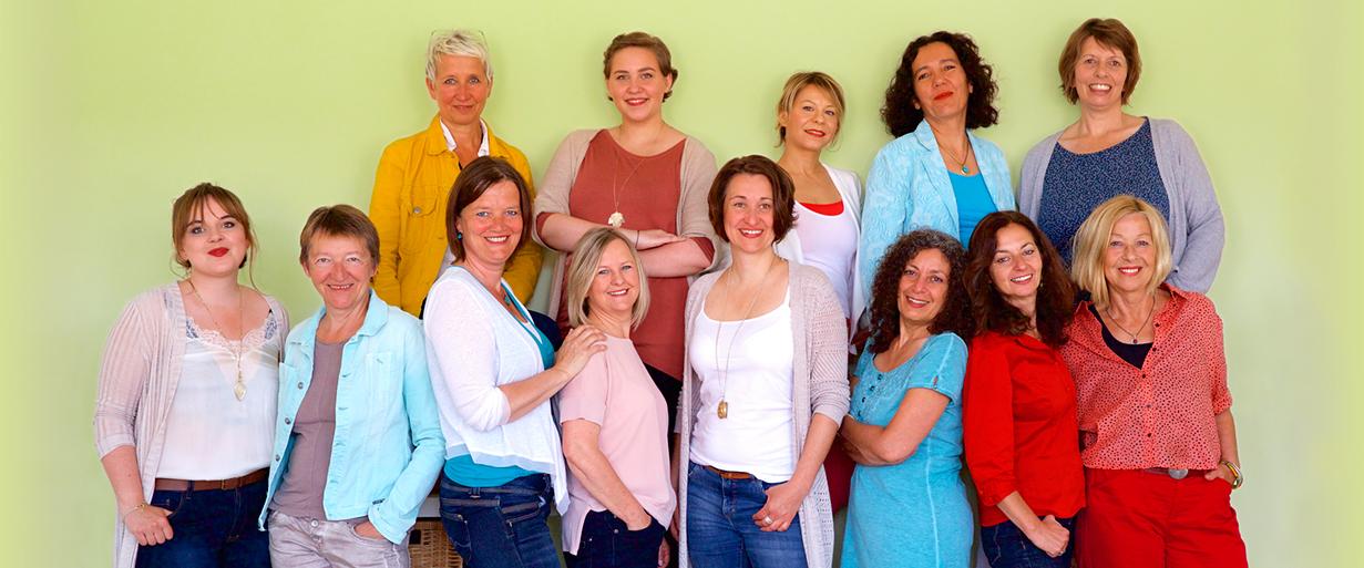 Foto Team Frauennotruf 2017